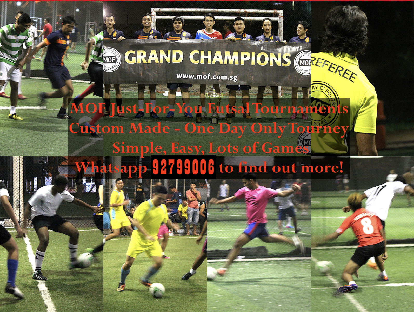 MOF Just-For-You Custom Futsal Tournament! Ministry of Sports 2019-10-05 17-11-08