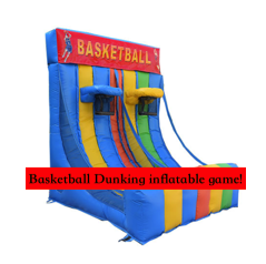 Basketball Dunking Inflatable