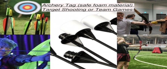 Archery Tag Collage